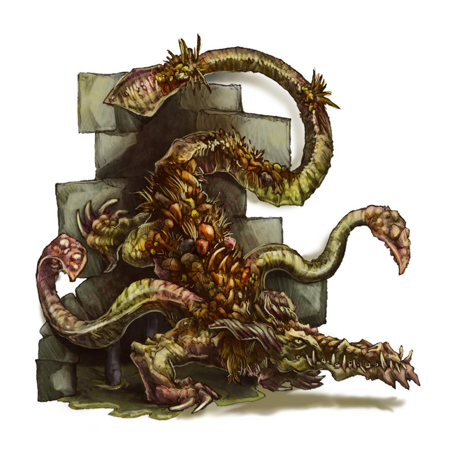 Sewer Drake by butterfrog