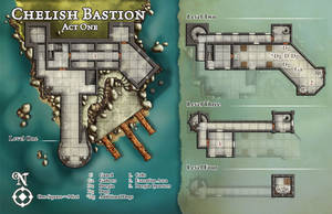 Chelish Bastion by butterfrog
