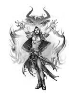 Warlock by butterfrog