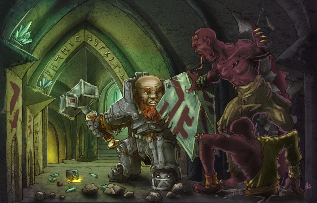 Dwarf Defender by butterfrog