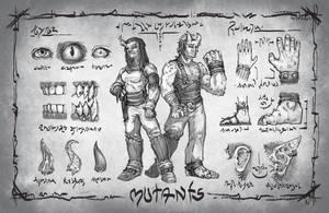 Quantum Races: Mutants by butterfrog