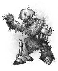 Zombie Automaton by butterfrog