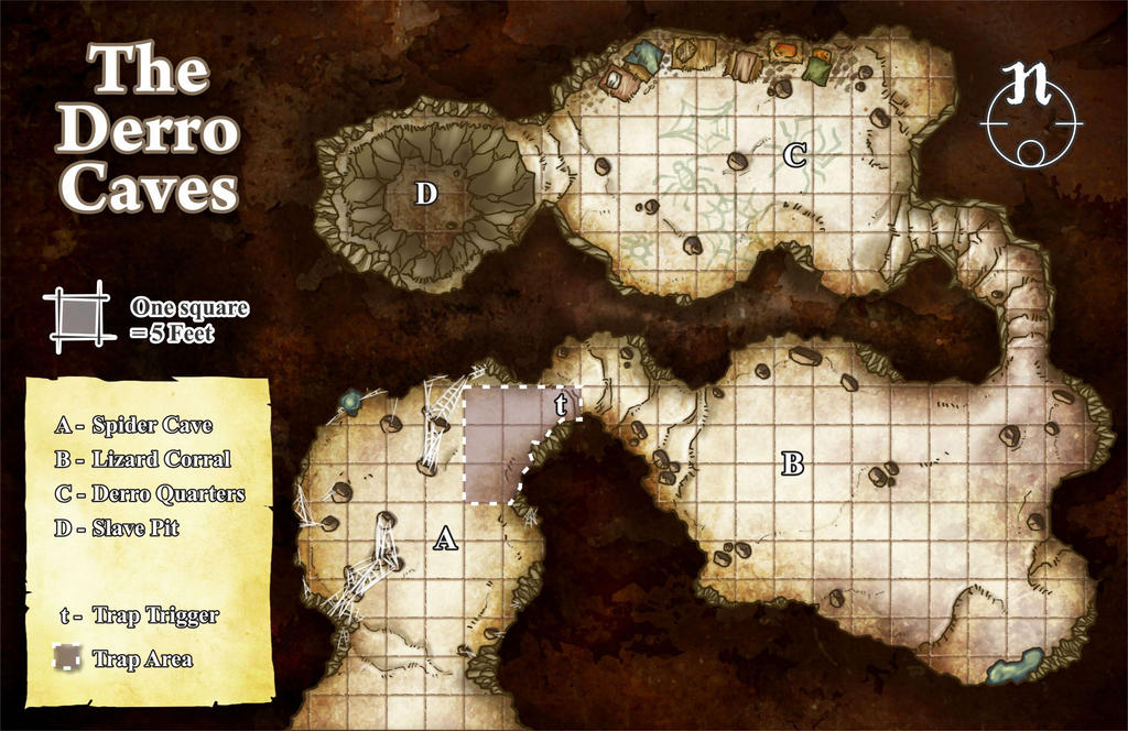 The Derro Caves by butterfrog