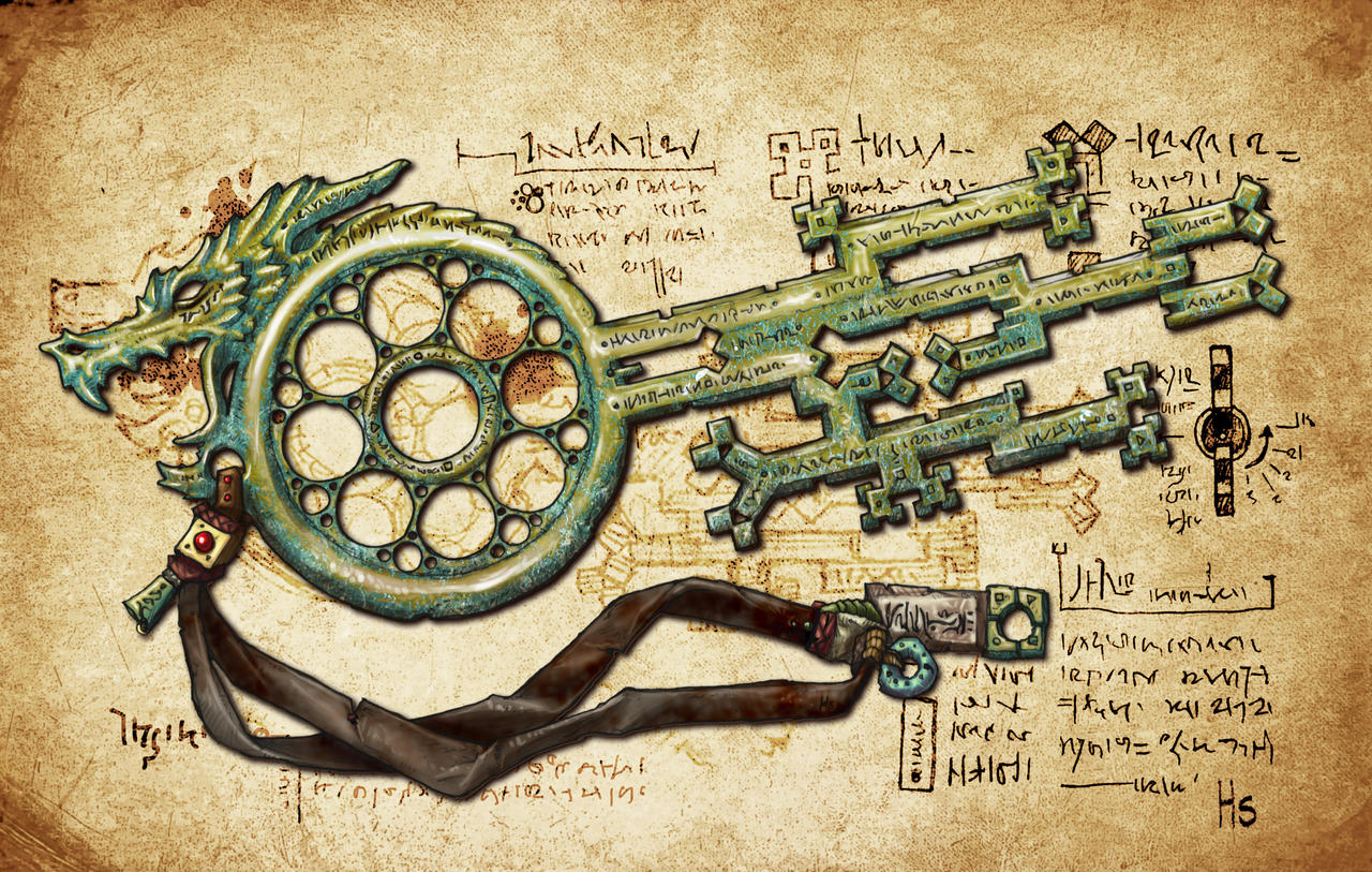 Midgard Key by butterfrog