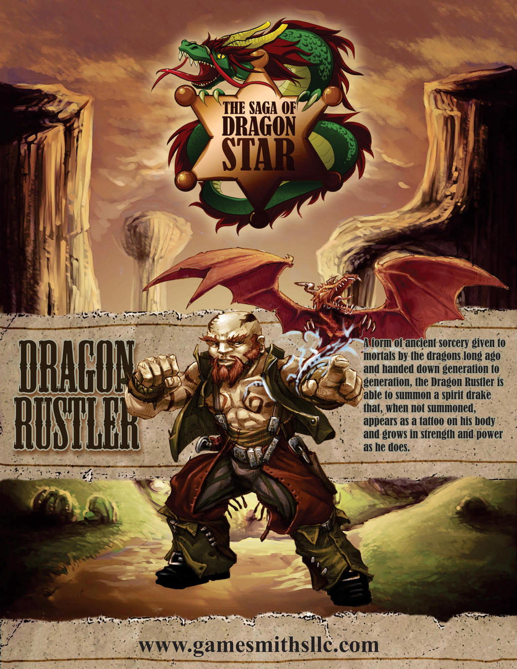 Dragon Rustler Class by butterfrog