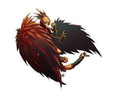 Griffon Monk by butterfrog
