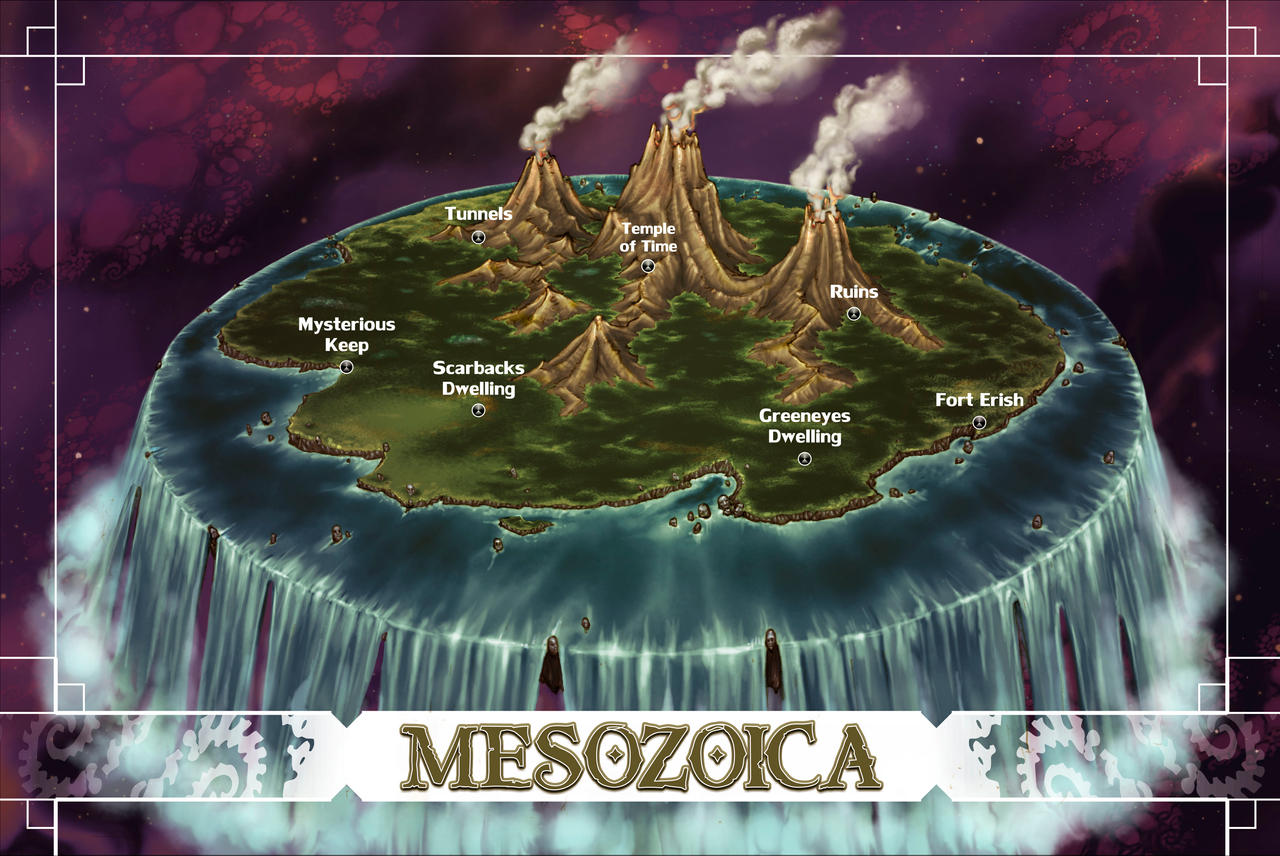 Mesozoica by butterfrog on DeviantArt