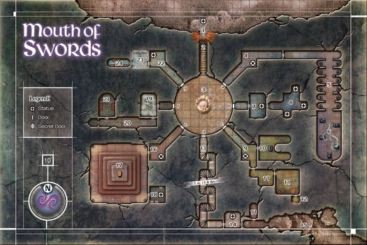 Mouth of Swords Dungeon