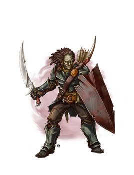 Ork Mercenary Commission