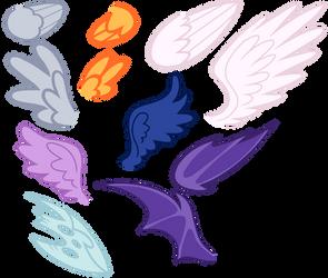 MLP Base #7 | Wings [ F2U ] by XGeneralMarshmallowX