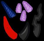 MLP Base #13 | Horns [ F2U ] by XGeneralMarshmallowX