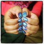 Galaxy Nails!!!!
