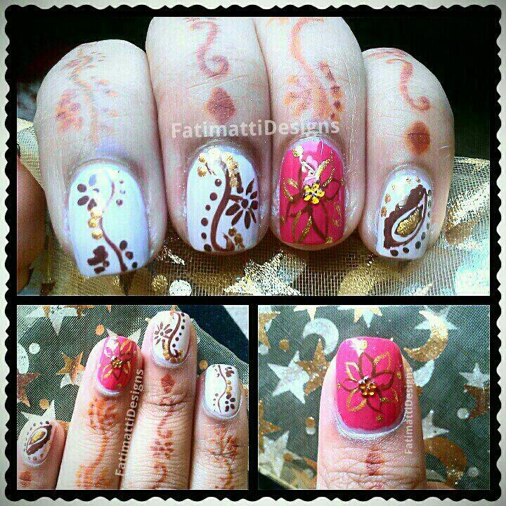 Henna Flowers by FatimattiDesigns