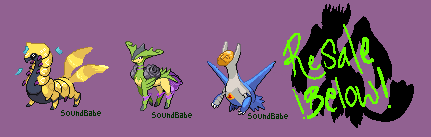 PKM Fusions Open 1:4 PRICES LOWERED by AdoptBabes