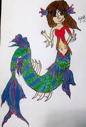 me as a mermaid by minepearl