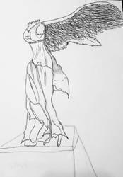 venus sculpture by minepearl