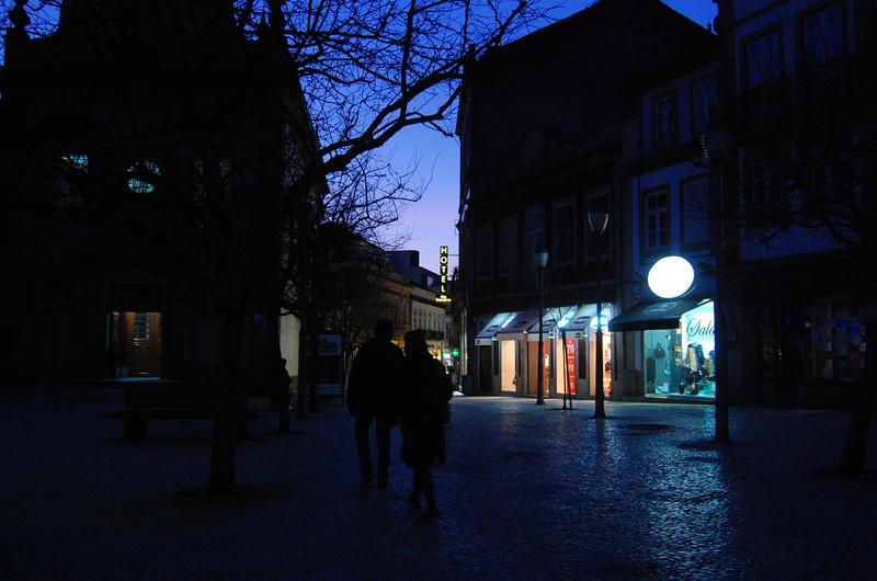 Night path by 001011011