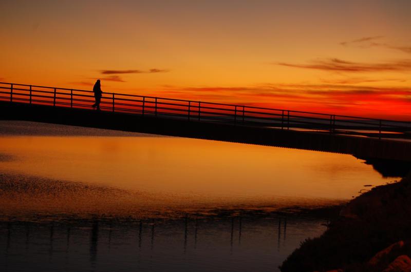 Dawn Bridge by 001011011