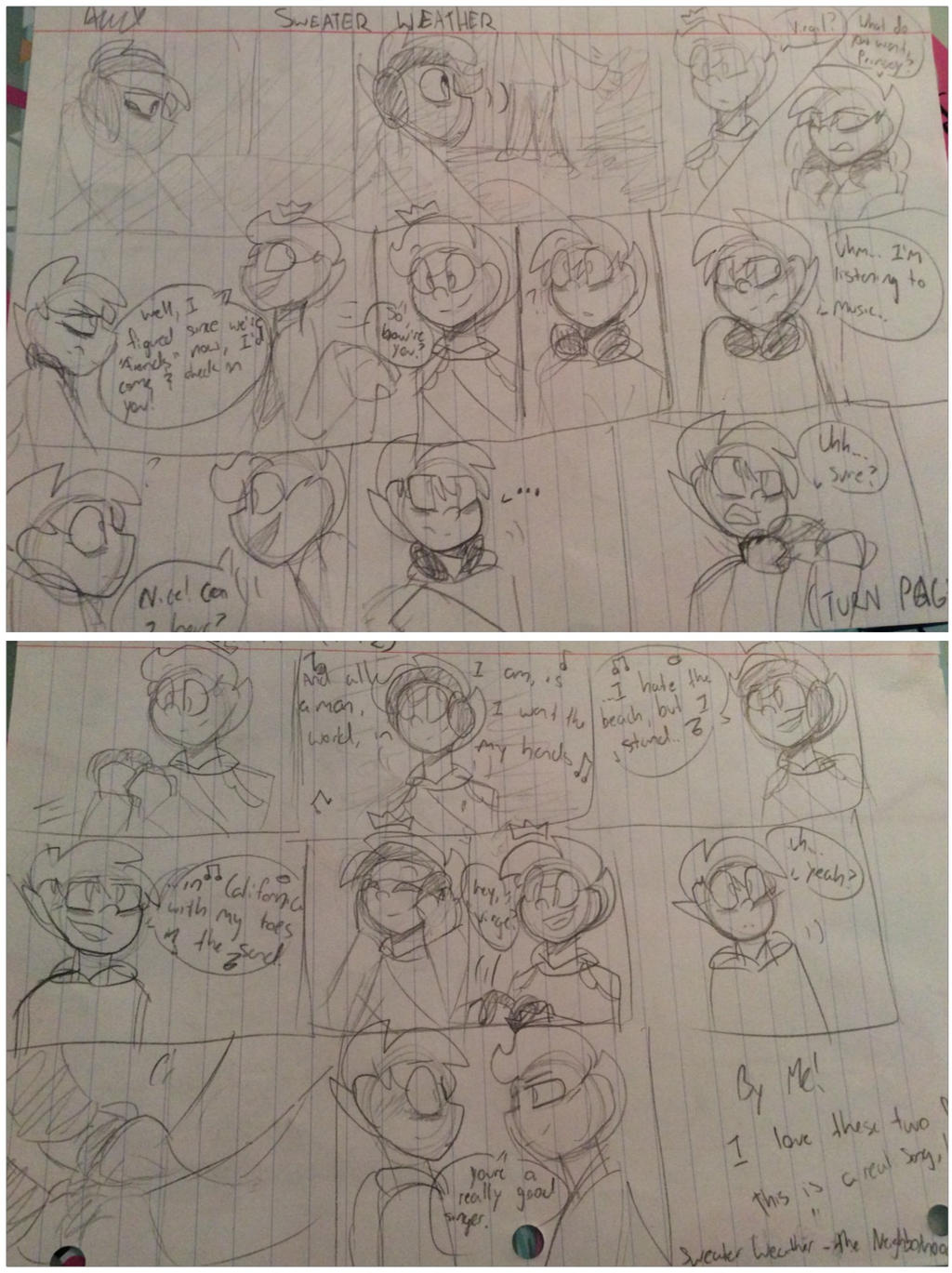 Sweater Weather (prinxiety comic) by cocoatwist on DeviantArt