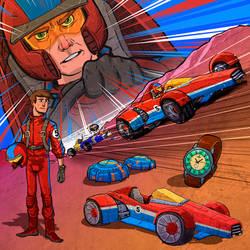 Radical Racer - James Velz - Cardinal Five
