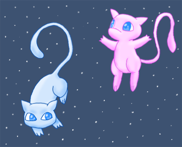 Rare Mew Discovery by pichu90