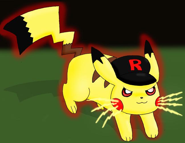 Team rocket pikachu - photo#9