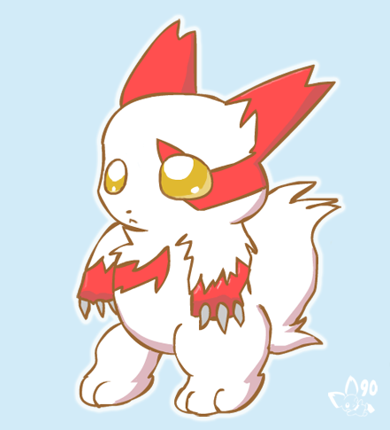 Chibi Zangoose by pichu90 on deviantART