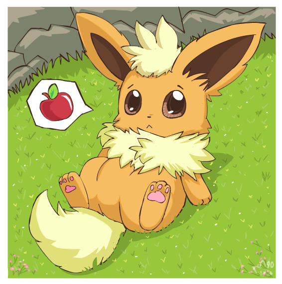 Chubby Flareon By Pichu90 On DeviantArt