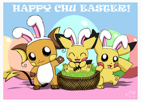Happy Chu Easter by pichu90