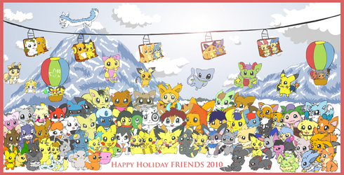 Happy Holiday Friends 2010