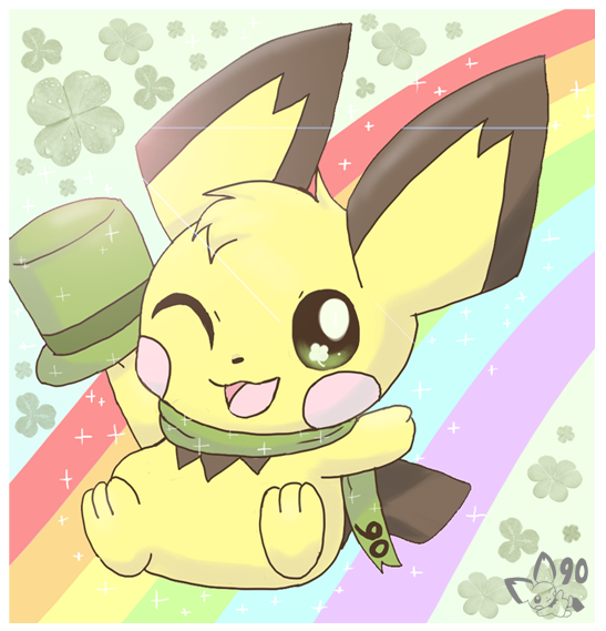 Holiday Happenins St_patrick__s_day_pichu_by_pichu90-d3bw0r0