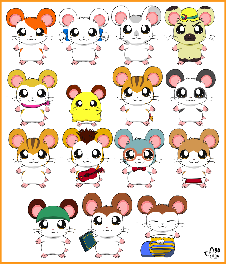 hamtaro characters boss wwwimgkidcom the image kid