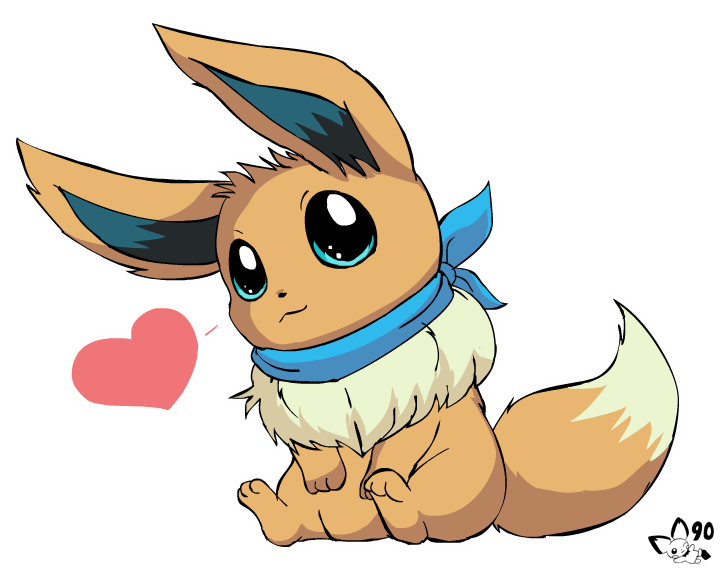 aren t eevees adorable by pichu90 on deviantart