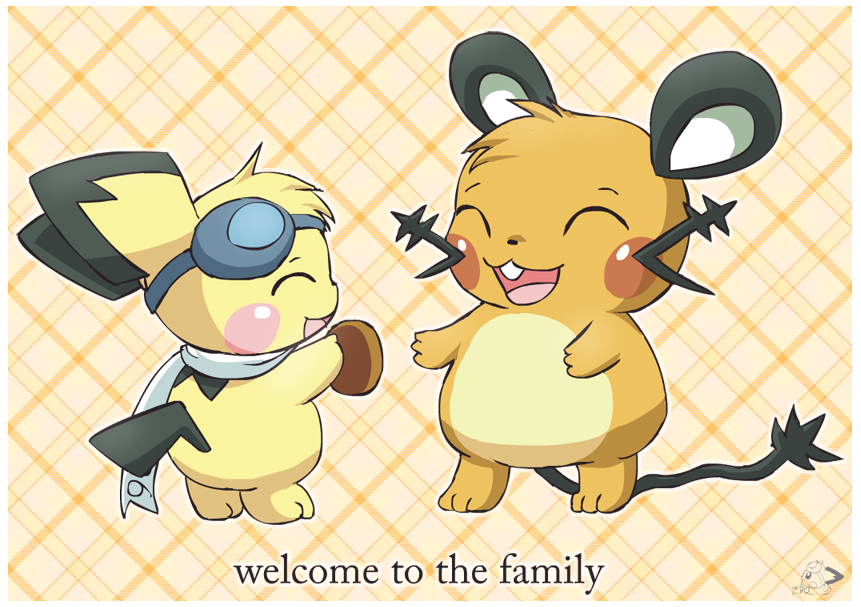 Welcome to the family by pichu90