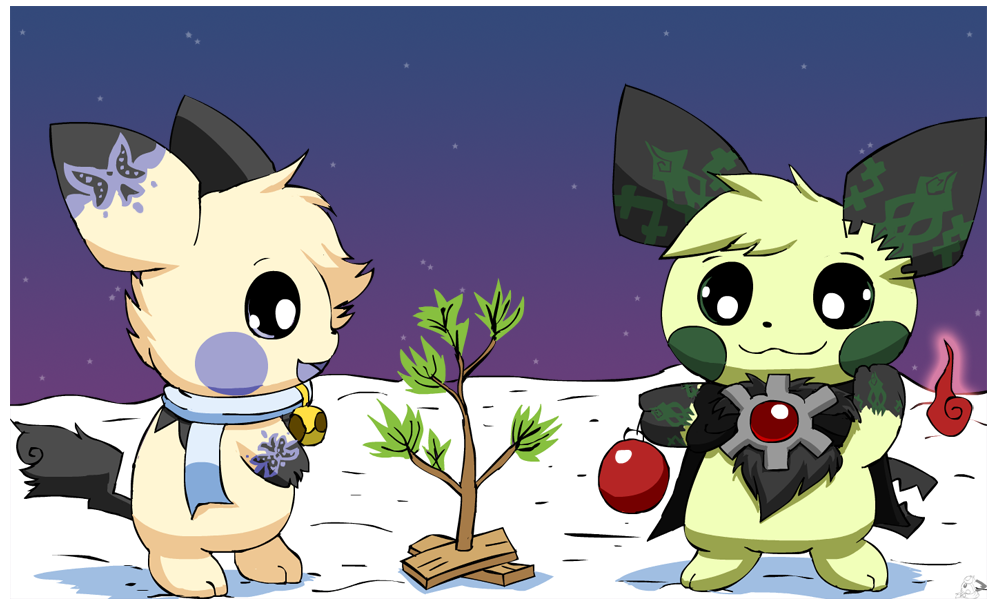 I never thought it was such a bad little tree by pichu90