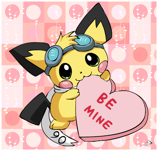 Pichu Valentine Candy by pichu90