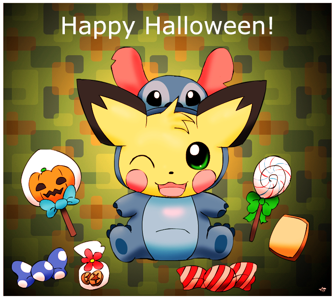 Sparks' Halloween '14 by pichu90