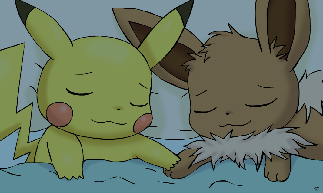 Adorably Asleep by pichu90