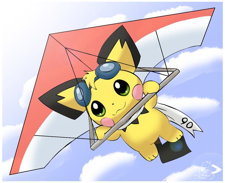 Gliding by pichu90