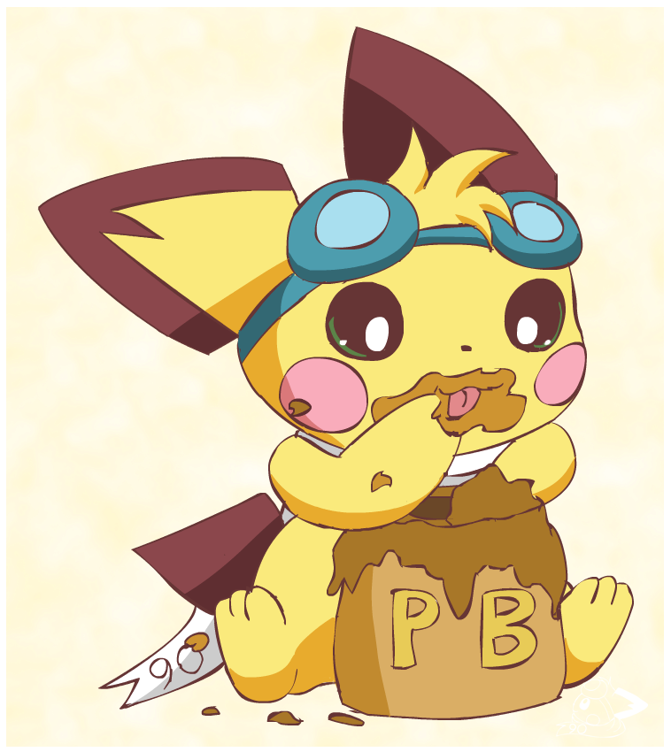 Sparks and PB by pichu90