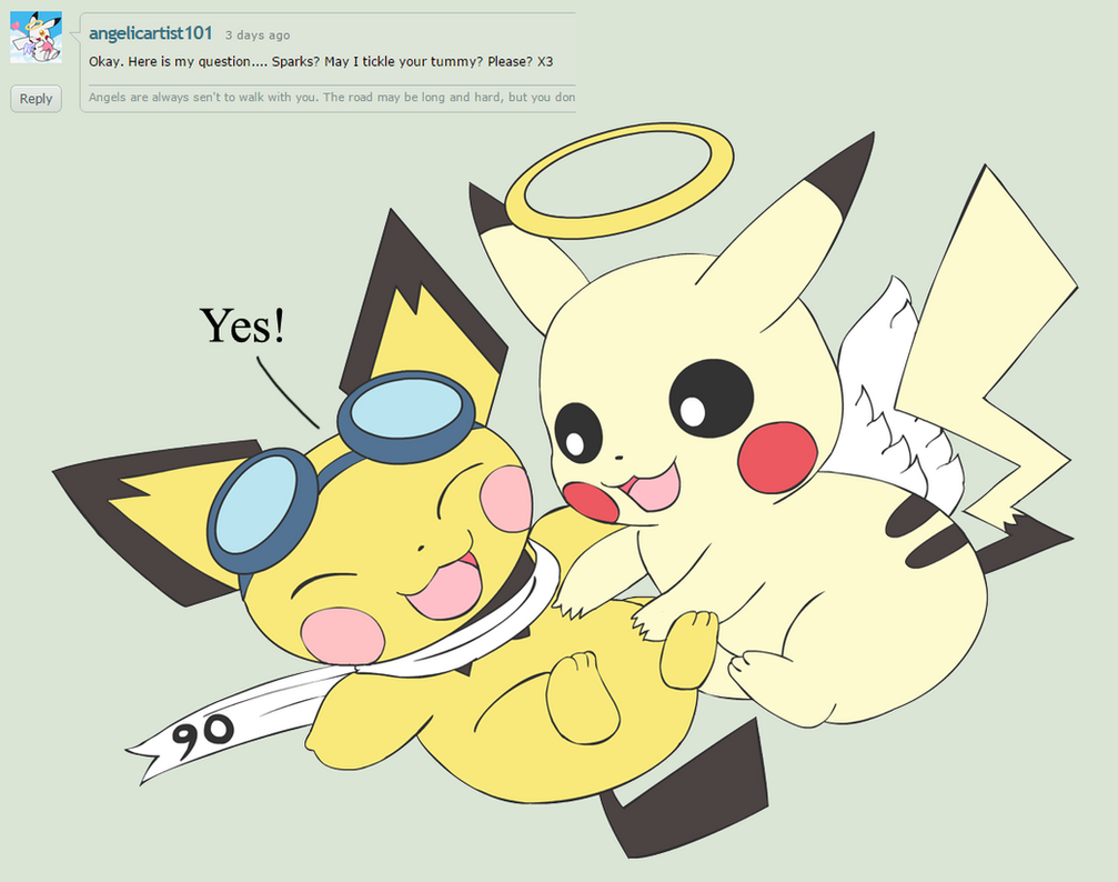 Ask Sparks #2 by pichu90