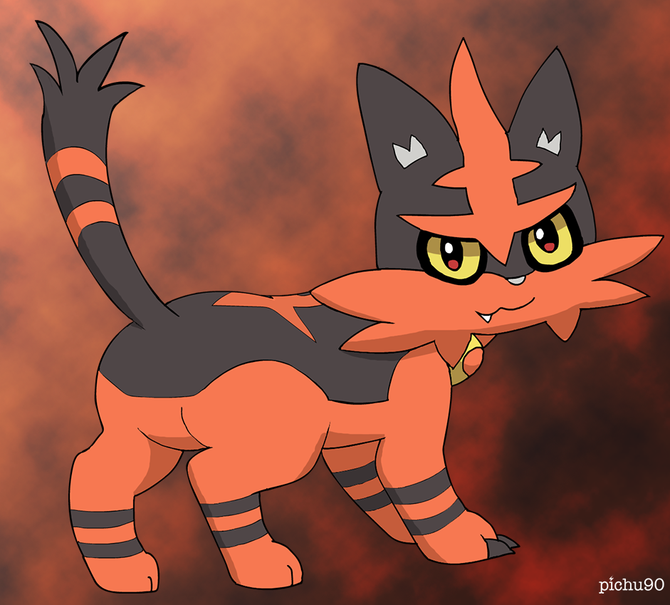 Torracat by pichu90