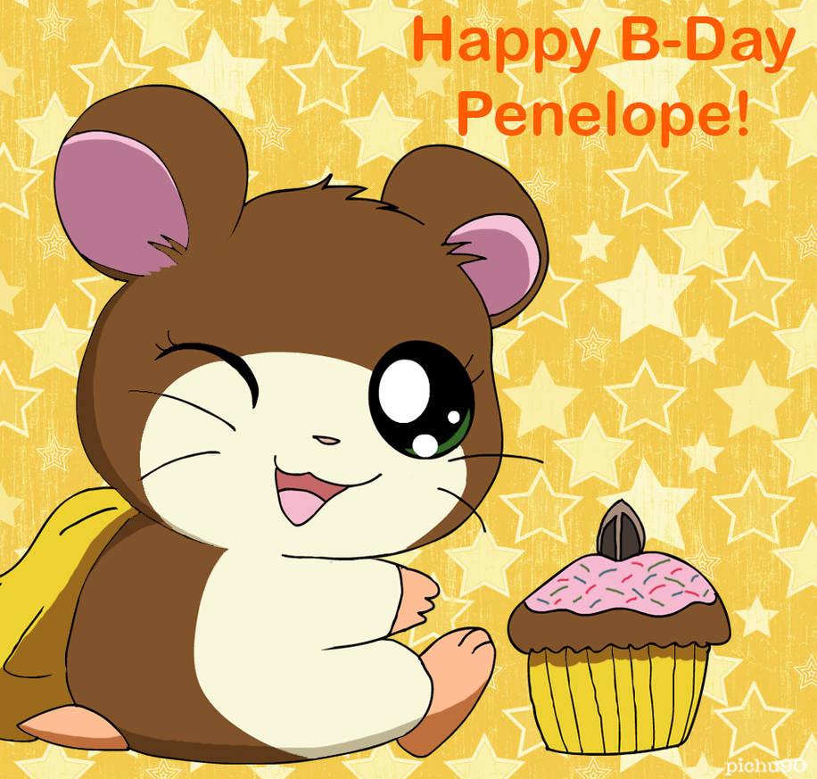 Happy Birthday Penelope! by pichu90