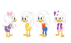 Webby Meets April, May, and June (My Version)