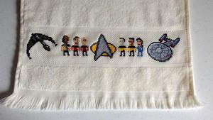 Star Trek:TNG geeky towel
