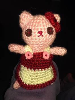 Amigurumi Kitty with Dress
