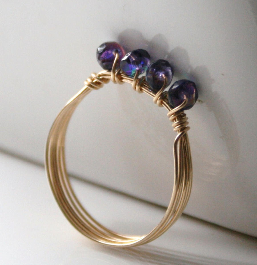 Ring With Loads Of Little Diamonds