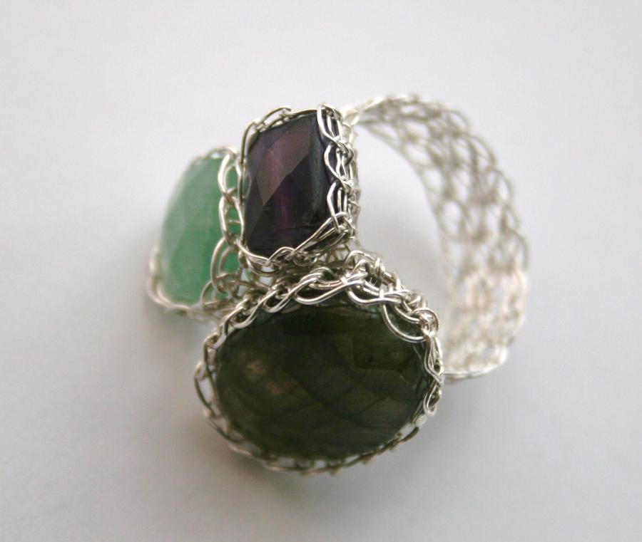 Stone Works Rings