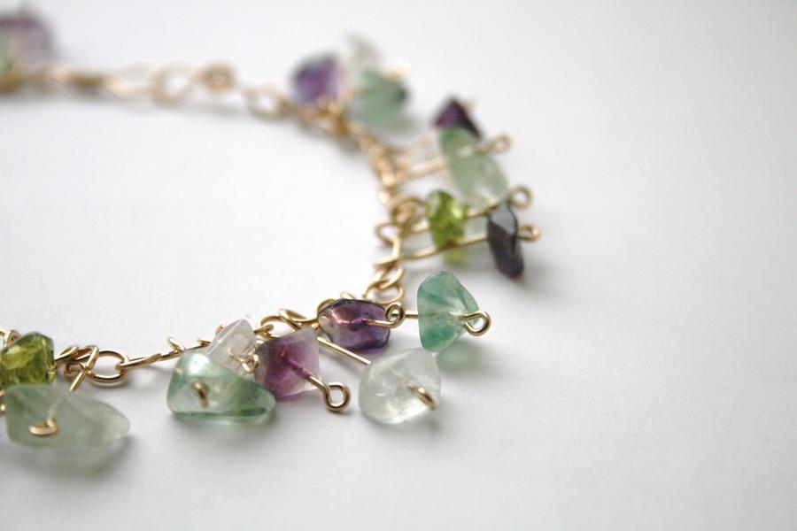 Peridot Bracelets And Rings