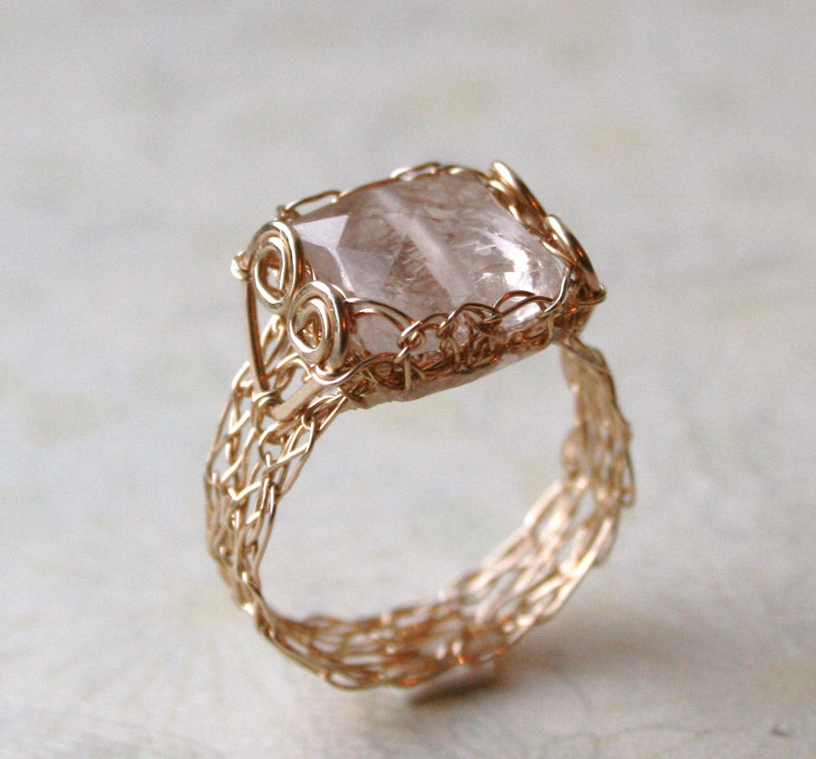 Wire Rose Ring Tutorial